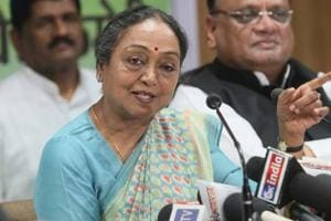 Meira Kumar congratulates Kovind, says battle for ideology will...
