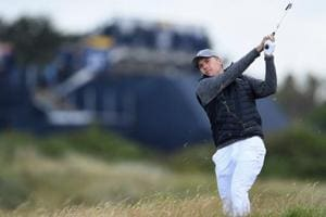 Jordan Spieth, Brooks Koepka slip back as rain halts play at British...