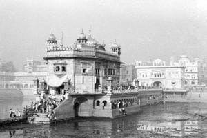 On June 6, 1984, over 1,000 lives were claimed during Operation Bluestar, the raid on Sikh's holiest shrine Golden Temple to cow down extremists led by Jarnail Singh Bhindrawale. This November 22, 1984, photo shows kar sewa (voluntary service) for repairs at the Golden Temple.
