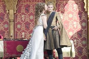 A still from Game Of Thrones. Fans of the series are opting for themed wedding events, replete with decor and props representing the show.