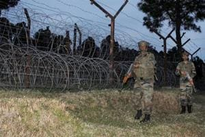 Pakistan troops violate ceasefire along Line of Control in Nowgam and...