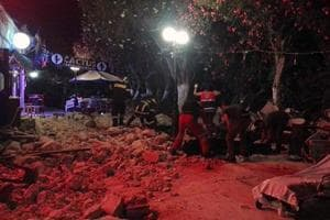 Two killed in 6.7-magnitude earthquake off Greece and Turkey resorts