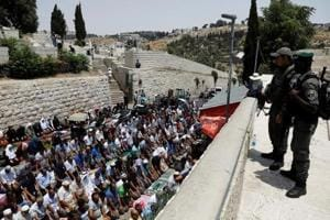 Israel bars Muslim men below 50 years from conducting Friday prayers...