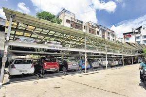 Beating land crunch: Delhi civic bodies to develop stack parkings near...