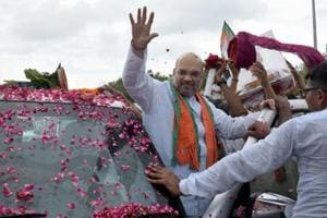 Rajasthan rolls out the red carpet for BJP chief Amit Shah