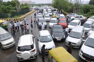 Downpour heaps misery on Noida's commuters