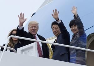 Trump's chat with Japan's first lady: Lost in translation or a snub?