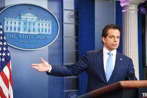 Trump's new communications director Scaramucci makes conciliatory...