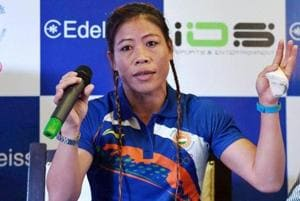 MC Mary Kom denies reports that she sought Shiva Thapa's removal from...