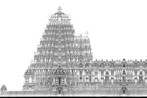 UK professor designs ancient Hoysala-style temple in India