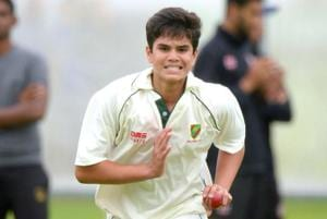 Sachin Tendulkar's son Arjun helps India at nets before Women's World...