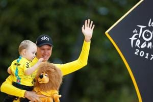 Chris Froome wins his fourth Tour de France