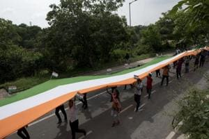 Tiranga March was held on the occasion of Kargil Vijay Diwas at Jawaharlal Nehru University in New Delhi.