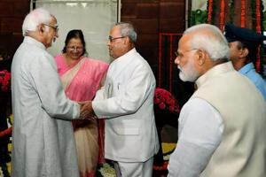 President Pranab Mukherjee hails democracy, Parliament in his farewell...
