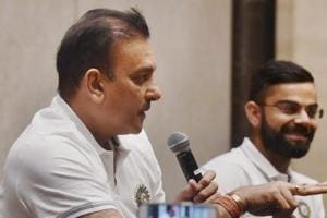 Ravi Shastri starts new innings in Sri Lanka in an unfamiliar position