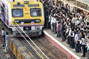 Coconut from moving train hits railway staff  in Mumbai
