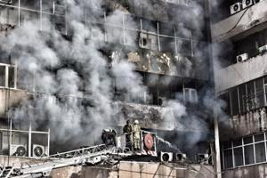 Fire breaks out in central Delhi's Lok Nayak Bhawan, no casualties...