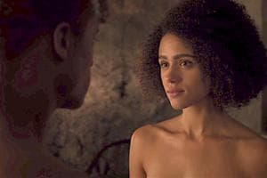 Missandei and Grey Worm finally consummated their romance.