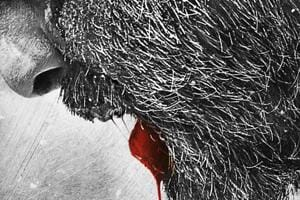 Bhoomi poster: Sanjay Dutt is bloodied but not broken, see photo