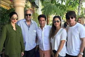 Shah Rukh Khan, Gauri Khan's LA holiday is star studded. Let's play...