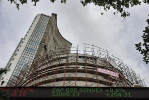 Sensex hits fresh peak of 32,135.91; Nifty at 9,939.30