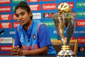 Indian skipper Mithali Raj during a press conference.