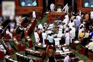 In Rajya Sabha, discussion continued on reported increase in the incidents of lynching and atrocities on minorities and Dalits. Members during the debate condemned the acts of brutality and urged that strict action must be taken against the attackers.
