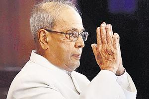 Pranab praises Modi in his last speech in Parliament