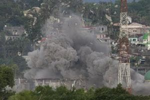 Marawi standoff enters third month as IS-linked fighters dig in