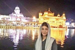 Shruti Haasan visits Golden Temple, childhood dream fulfilled