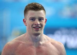 Adam Peaty breaks men's 50m breaststroke world record