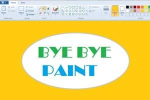 Once kids' favourite Microsoft Paint will be brushed aside for 3D...