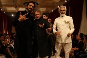 See pics: Designer Rohit Bal's show at India Couture Week 2017 with...