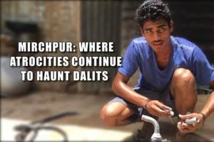 In April 2010, 18 Dalit homes were burnt down, allegedly, by the...