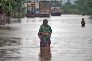 Photos: Flood situation turns grim in Gujarat, thousands affected