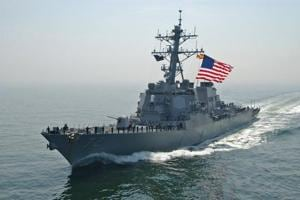US Navy ship fires warning shots at Iranian ship: Official