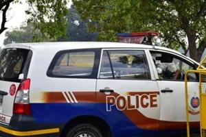 Police sources said the cop, posted at the police training college in Jharoda Kalan, had inappropriately touched two women constables at dinner.