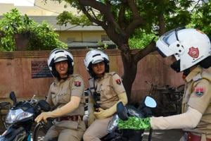 All-women police units take a stand on the streets of Jaipur