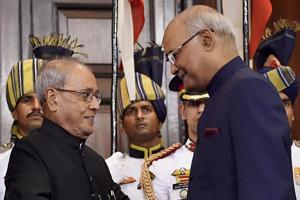 President Ram Nath Kovind says we have to build India as envisaged by...