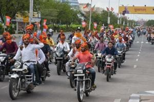 After Shah visit, BJP vistaraks in Rajasthan may get motorcycles