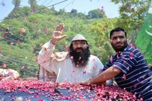 Salahuddin claiming Hizbul Mujahideen can target anywhere in India,...