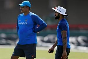 Virat Kohli was not amused when he was asked on the drama before Ravi...