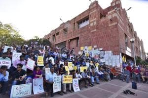 Hindi mandatory to fill MPhil, PhD forms at JNU, students say varsity...