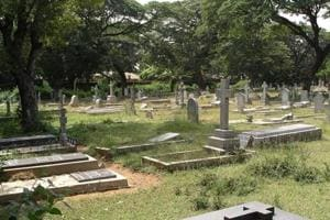 Over 100 crosses and plaques at the Guardian Angel Catholic cemetery in south Goa's Curchorem village, around 45 kilometres from Panaji, were desecrated earlier this month.