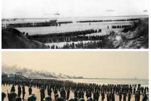 Dunkirk: We found archive pics from 1940 to compare with Christopher...