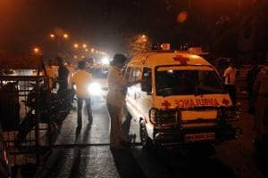Ambulance hit by 'speeding' Eon in central Delhi, heart patient dies...