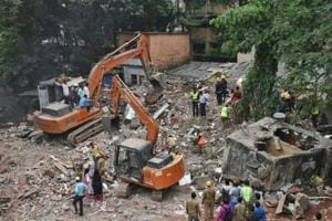 Mumbai building collapse: Ghatkopar residents blame Shiv Sena leader;...