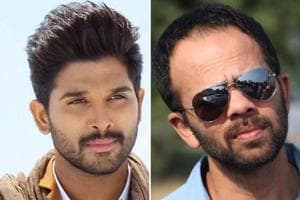 Allu Arjun meets Rohit Shetty, Golmaal Again team in Mumbai. See pics