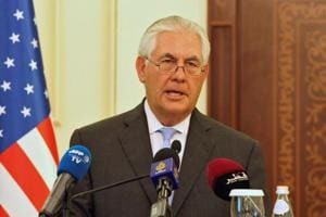 Tillerson back at work, US state department rubbishes exit reports