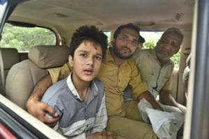 A child who was in the car at the time of the incident. He is among the four survivors of the accident.